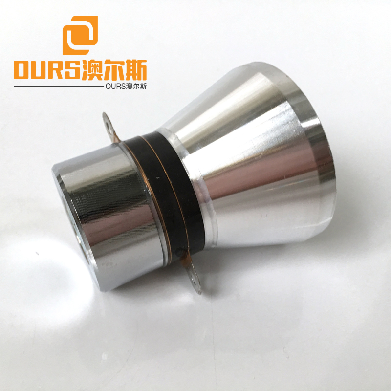 28KHZ 60W PZT4 With Hole Or Without Hole Frequency Piezoelectric Ultrasonic Transducer For Industry Washing
