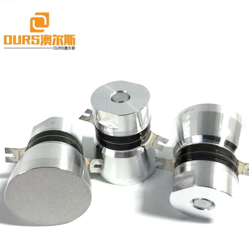 Industry Ultrasonic Cleaning Goods Ultrasonic Transducer Piezoelectric Ultrasonic Wave Transducer 40K 50W Single Frequency