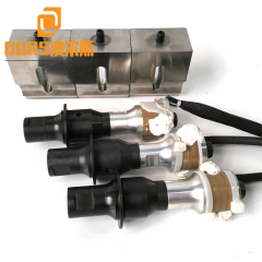 35KHZ 900W PZT8 High Frequency  Ultrasonic Welding Transducer For Welding Auto Parts Bumpers
