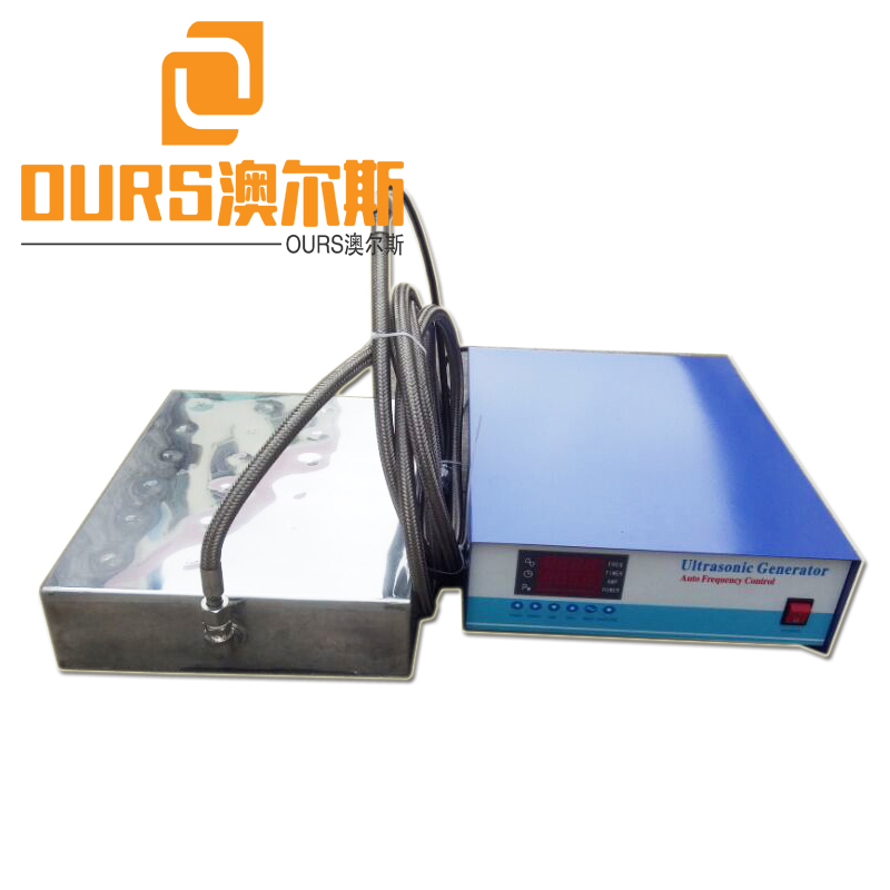 28k/40k 1000W Multi-Frequency Submersible Ultrasonic Vibration Transducer For Existing Tank