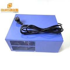Voltage 110V 220V AC 1000W CE Type Ultrasonic Wave Power Supply 28KHZ As Piezoelectric Cleaning Transducer Generator