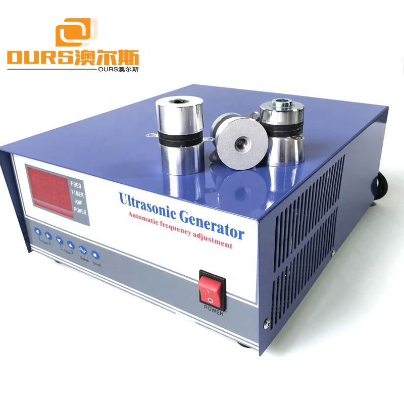 1500W Ultrasonic Sweep Frequency Generator 40KHz/28KHz For Sweep Frequency Cleaning Machine