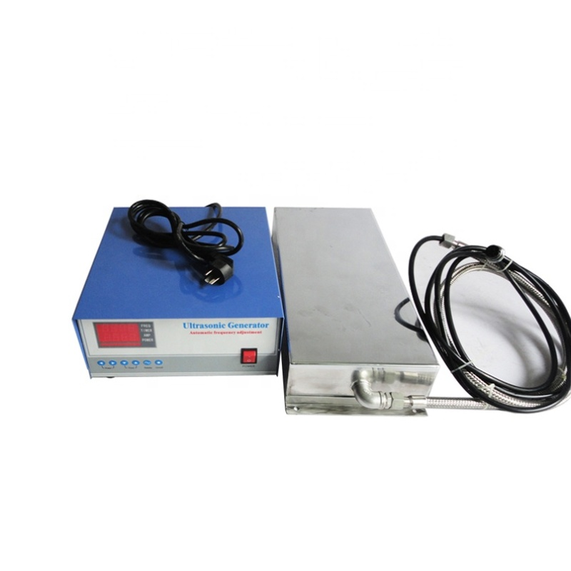 High Frequency 80K Underwater Submersible Ultrasonic Cleaner Vibration Plate Immersible Transducer Box And Cleaning Generator
