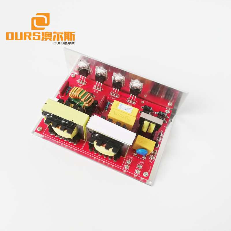 100W Blue PCB Circuit Board 40KHz Ultrasonic Generator PCB Used In Ultrasonic Cleaning