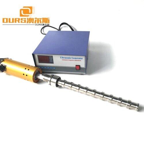 20KHz Homogenization Refining Catalyzing Biodiesel Ultrasonic Tube Reactor 1500W High Power Liquid Processor