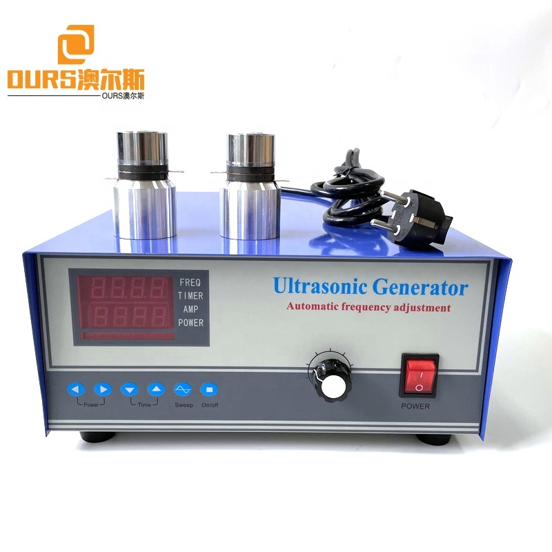 28K With Frequency Switch Knob Ultrasonic Cleaner Generator For Submersible Cleaning Transducer Power