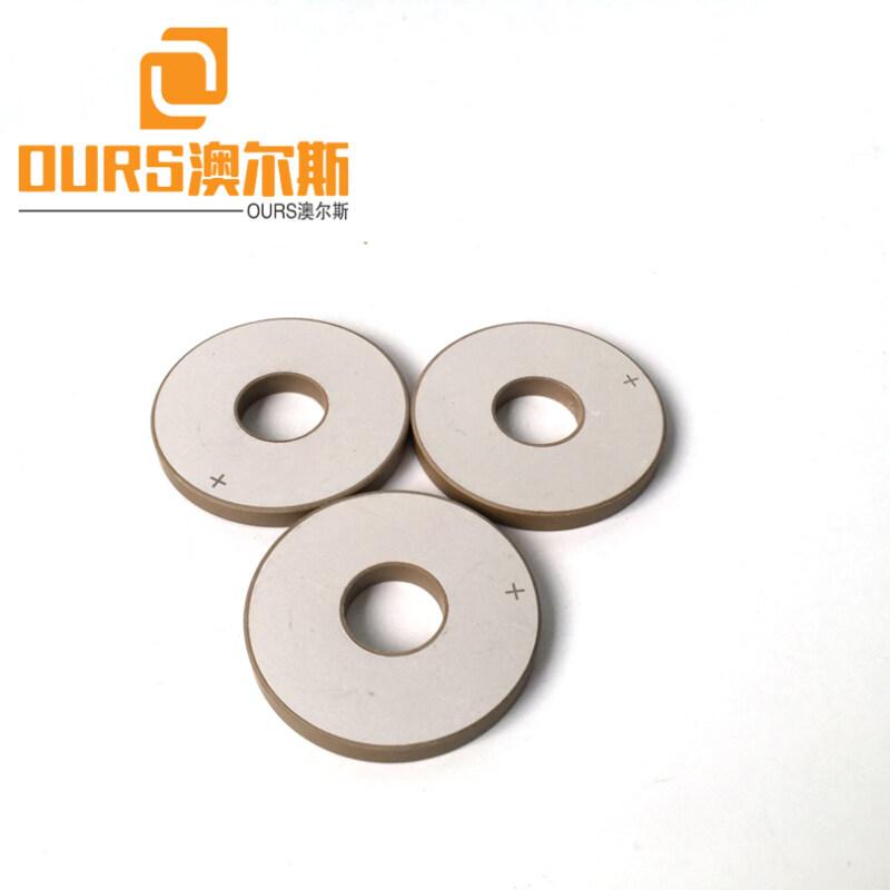 Factory Direct Sale piezo ceramic ring 50X17X5mm PZT8 For Ultrasonic Sensor