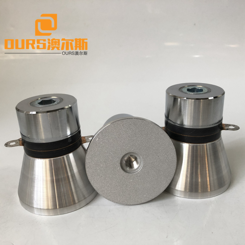 Acoustic Cleaning Ultrasonic Transducer 28khz Frequency Ultrasonic Cleaning Power Transducers 60w