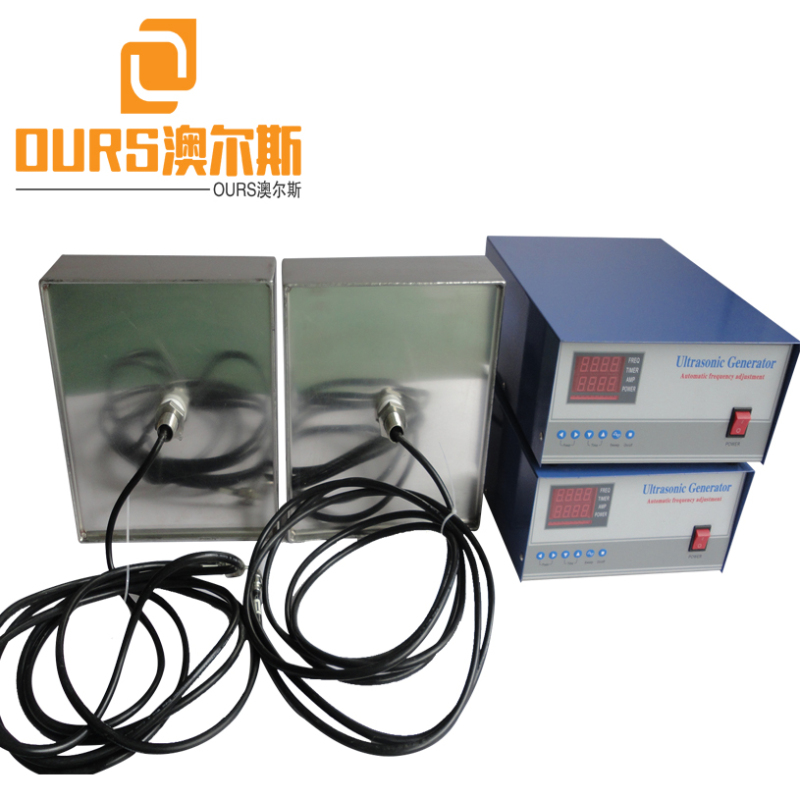 60Khz High frequency 1000W Waterproof Immersible Ultrasound Transducer Board For Parts Cleaning