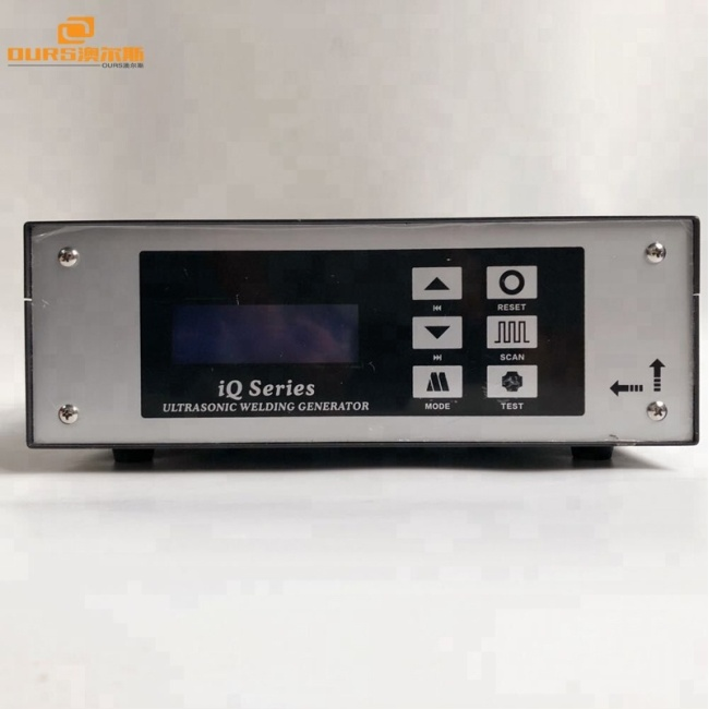 2600W15khz Ultrasonic welding PP PV PC high power digital display generator and transducer