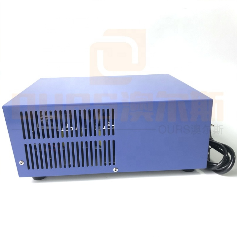 Piezo Transducer Power Control Box Industrial Ultrasound Cleaner Generator Dual Frequency Cleaning Power Generator 40K/120K