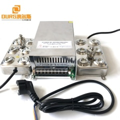Ultrasonic Mist Maker Fogger Water Fountain Pond Atomizer 180W 6Head Ultrasonic Atomizing Transducer