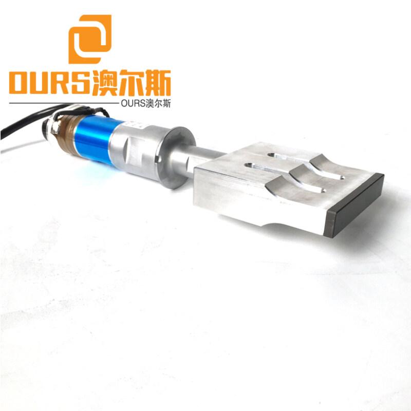 2000W 20KHZ Ultrasonic Generator Transducer Booster Horn For Face Mask Maker Ultrasonic Inner Ear-Loop Welding Machine