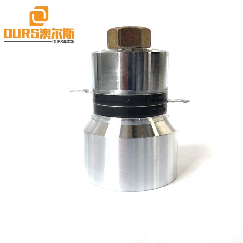Factory Wholesale High Frequency Ultrasound Transducer For Industrial Cleaning Machine 68K 60W Work With Power Supply