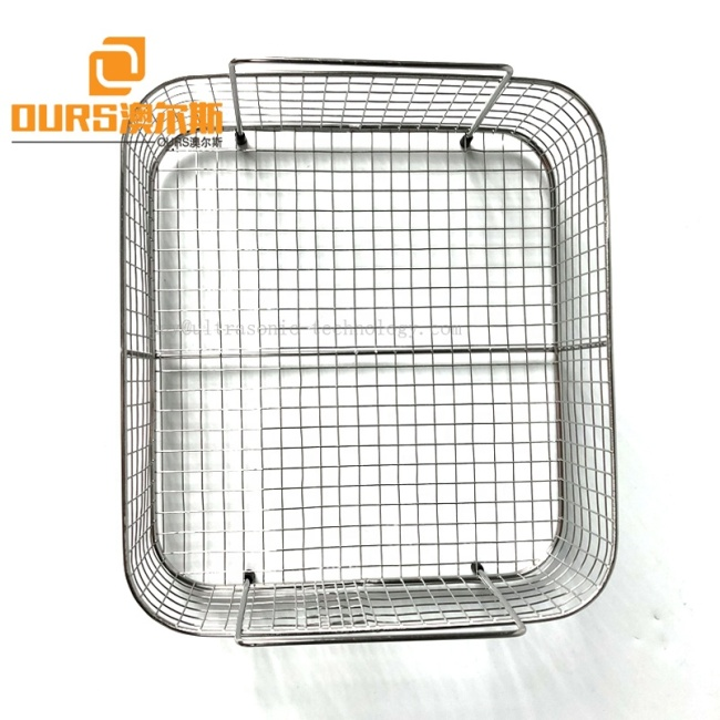 With Cleaning Tank And Basket Industrial Ultrasonic Cleaner 15L 40KHz Ultrasonic Transducer Vibration Cleaning Wave 220V
