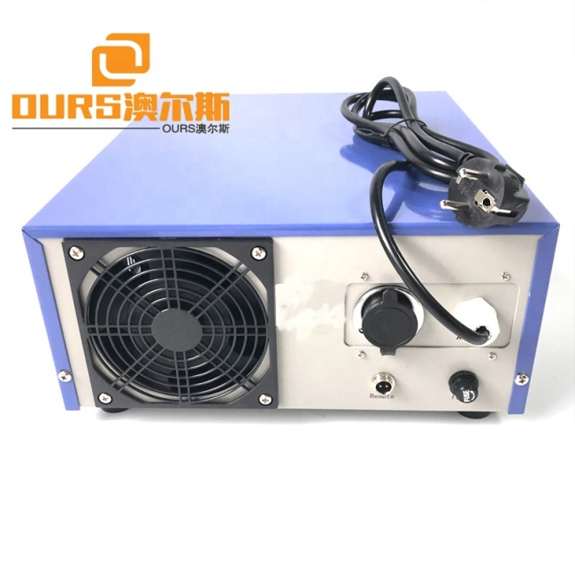Voltage 220V/110V AC Low Power Ultrasonic Vibration Generator Cleaning Transducer Tank Generator Frequency 20K-40K Optional