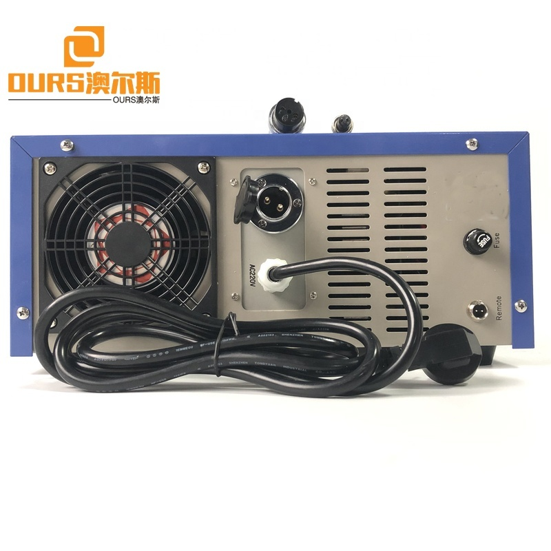 1200W High Power Ultrasonic Cleaning Machine Ultrasonic Multi Frequency Generator Celaner Tank Power Generator Box With CE