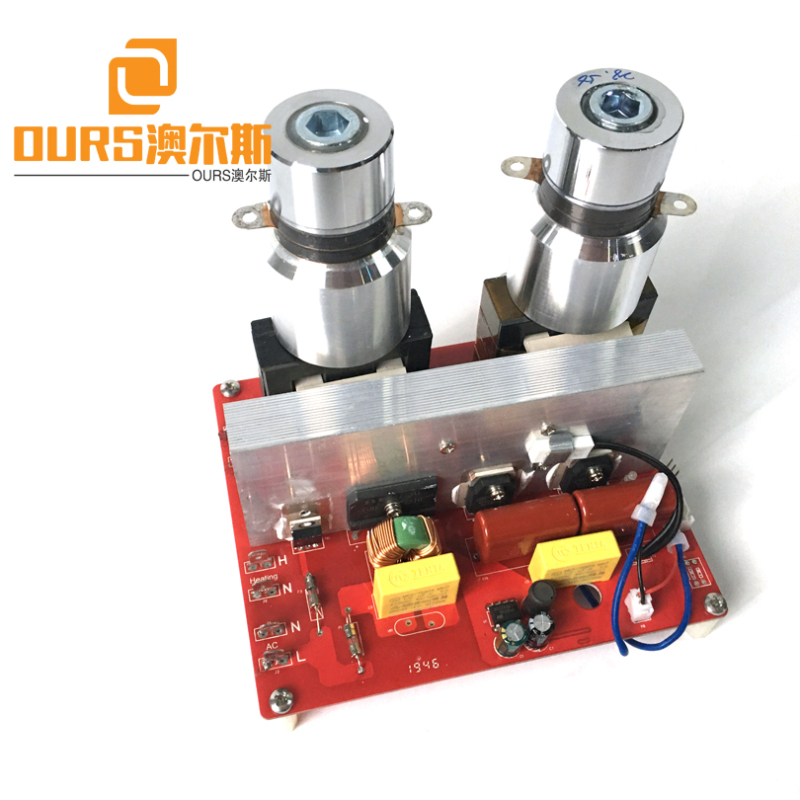FCC &CE TYPE 600W 40KHZ/28KHZ Ultrasound Driving Power PCB Supply For Cleaning Engine