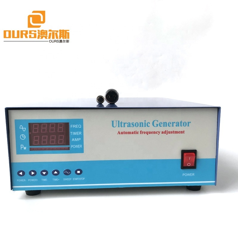 Factory Sale Vibration Wave Ultrasonic Cleaner Generator 28K 2400W As Ultrasonic Transducer Cleaning Machine Generator