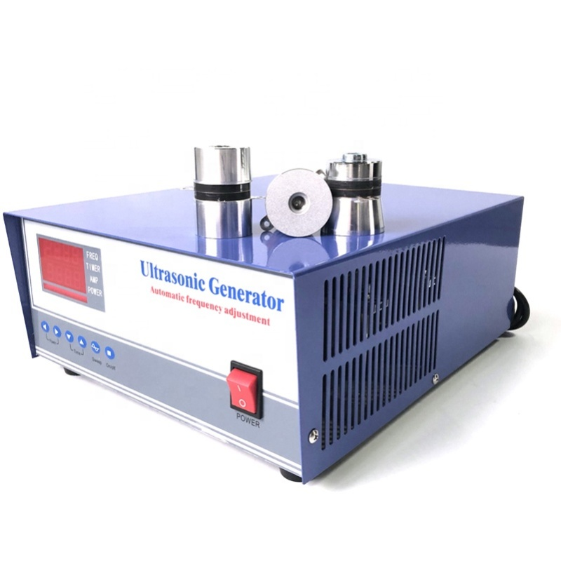 1800W Power Ultrasonic Cleaning Generator Smart With Ultrasonic Plate For Cleaning Tank