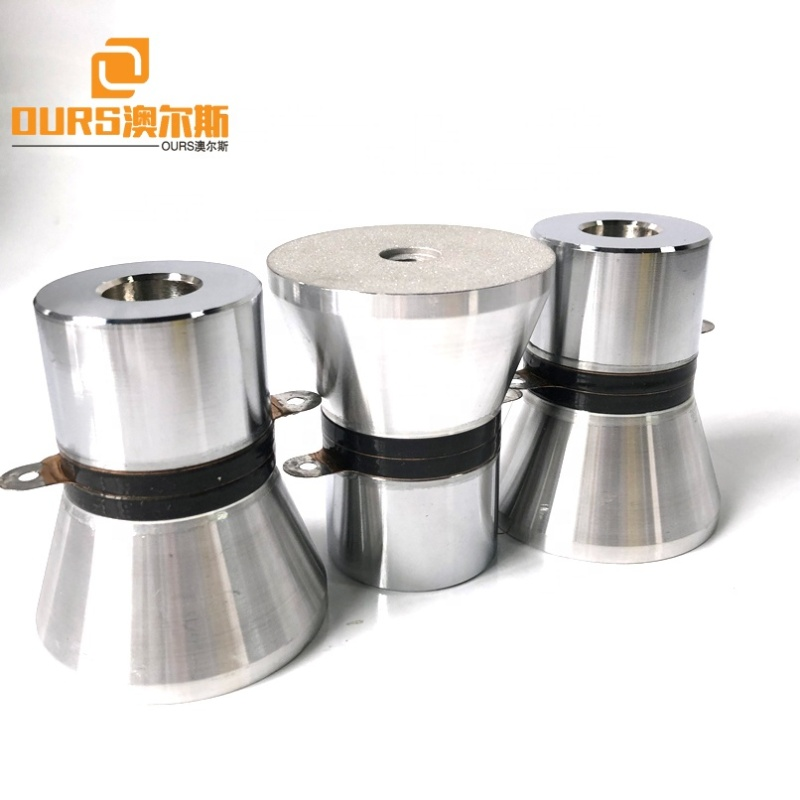 Factory Wholesale 25K 100W Ultrasonic Washer Transducer P4 Waterproof Washing Machine Ultrasound Cleaning Transducer