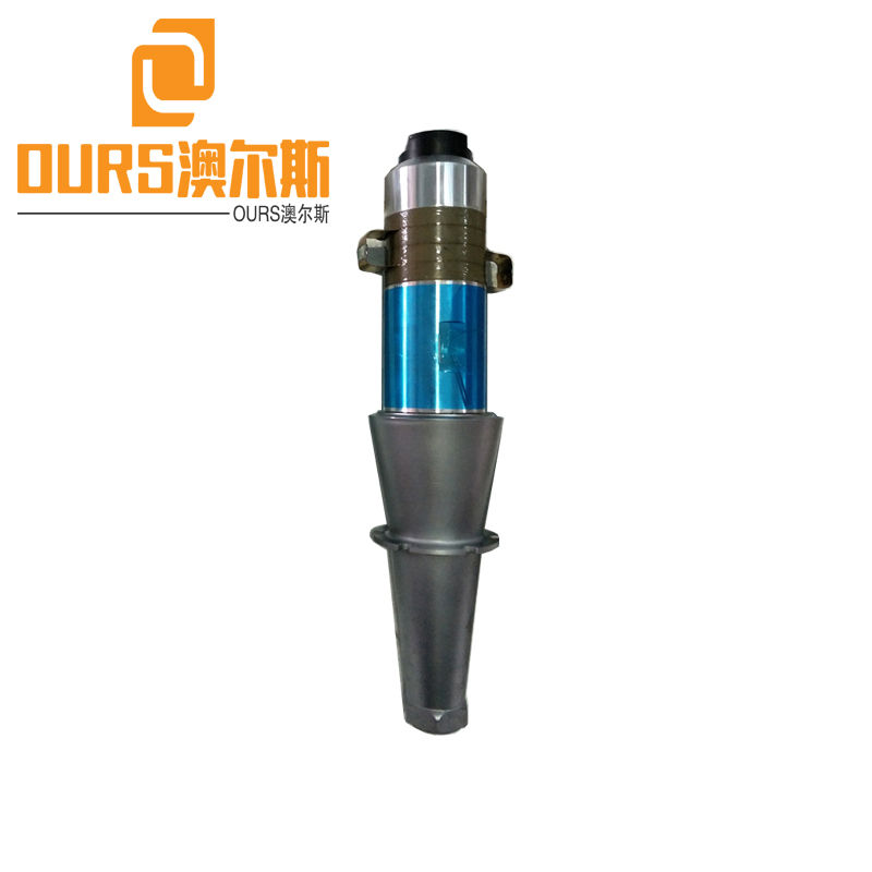 2600W/15khz Ultrasonic Piezoelectric Welding Transducer with Titanium Booster for PP/PE/POM