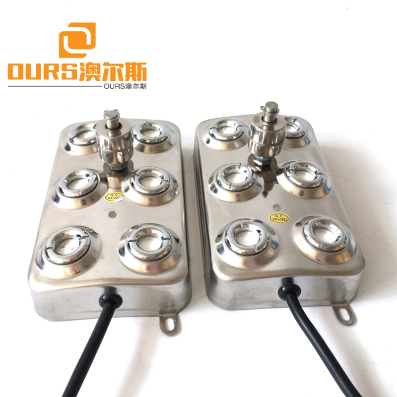 10 Head Industrial Atomizing Humidifier Core Parts Anti-corrosion 304 Stainless Steel Ultrasonic