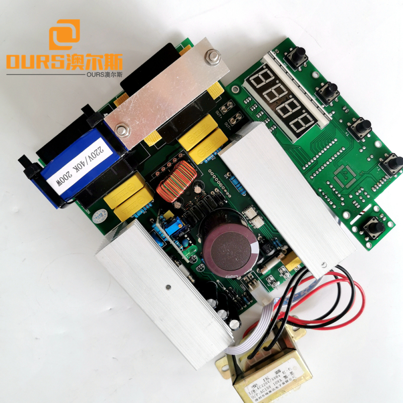 500W40KHZ 220V Ultrasonic PCB Drive power supply no display board type for Cleaning seafood, fruit, vegetables