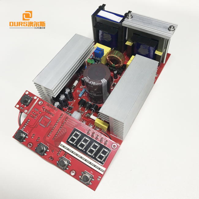 Ultrasonic generator PCB +display board 600W,Ultrasonic frequency current adjustable Variable for Frequency Ultrasonic Generator