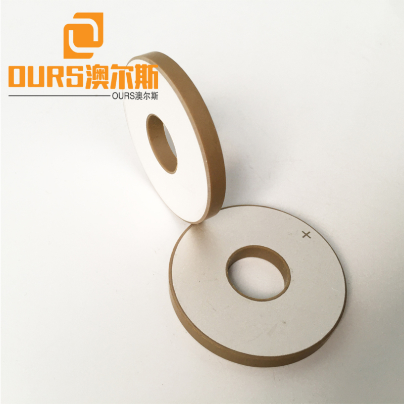 20KHZ Transducer use 50*20*6mm Piezoceramic PZT8 for Ultrasonic Welding Mask Machine