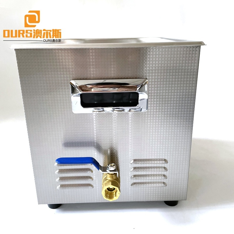 10L Digital Heated Ultrasonic Cleaning Bath Machine With Filter For Jewelry Glass Dental Parts Washing