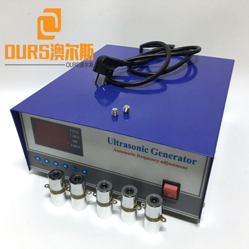 28KHZ/40KHZ 2000W Industrial Ultrasonic Cleaning Equipment Generator For Industrial Metal Parts