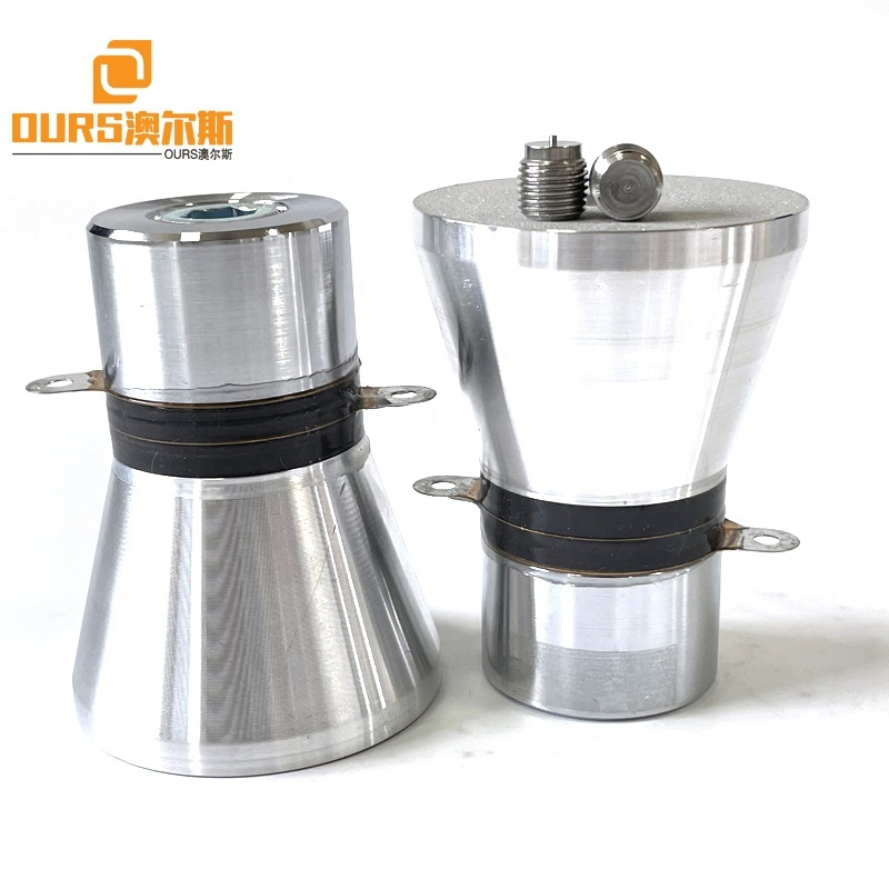 25KHZ 60W PZT4 Or PZT8 Frequency Ultrasonic Transducer For Korean Ultrasound Vegetable Fruits Dishwasher