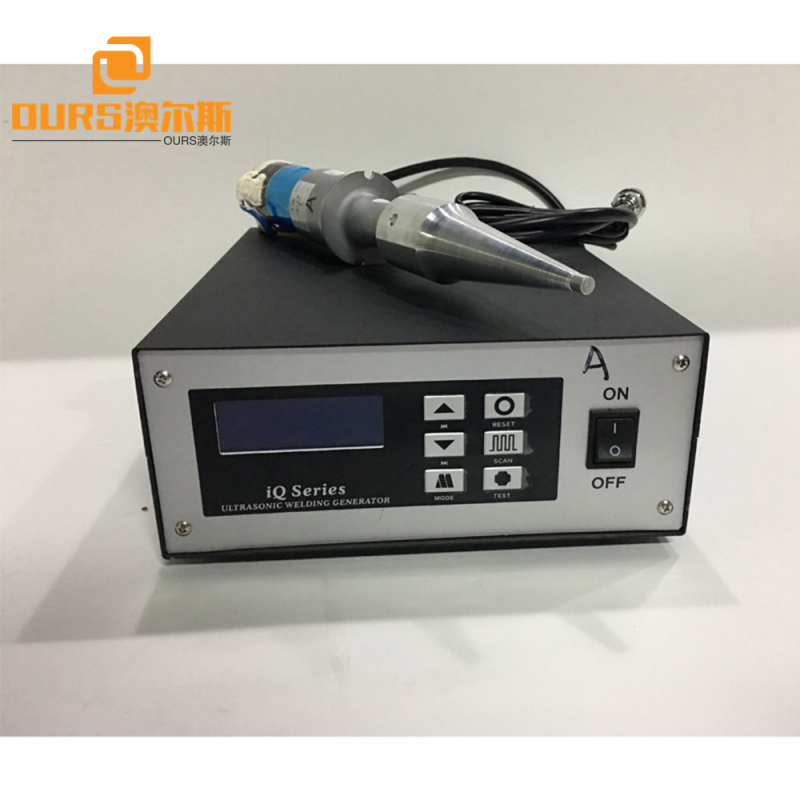 Automatic frequency-tracking Ultrasonic welding machine generator and transducer with horn for masks welding machine 15khz/20khz