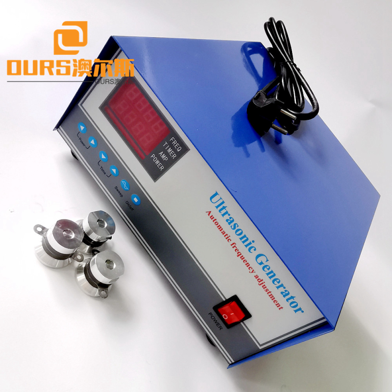 25khz Digital Frequency Auto-Tracking Ultrasonic Generator For Waterproof Immersible Ultrasonic Transducer 300w