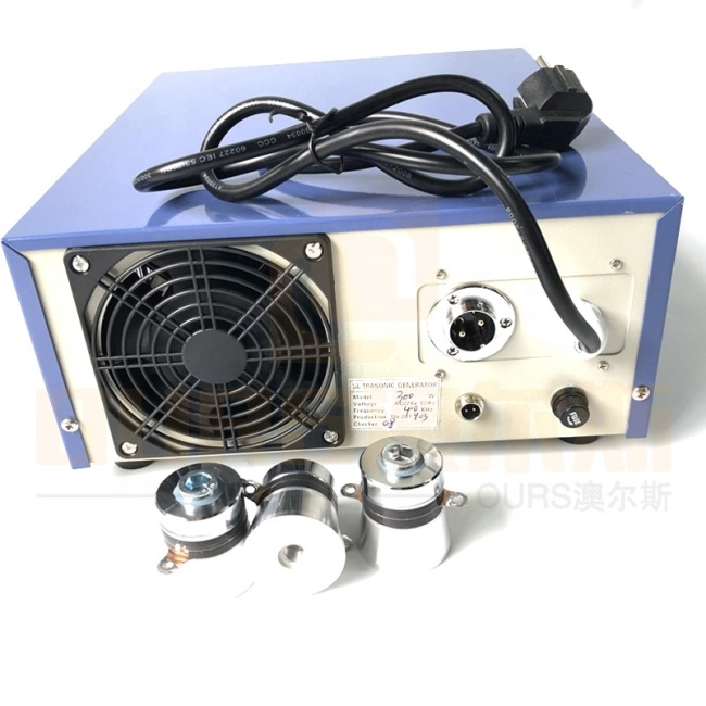 Ultrasound Vibration Power 20K Ultrasonic Generator As Driver Used In Industrial Cleaning Machine Clear Lime Deposits