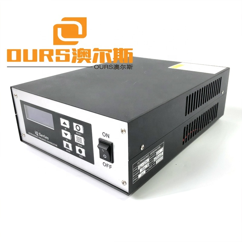 20KHZ Robotic Automation Ultrasonic Plastic Spot Welding Power Supply And Piezoelectric Sensor 900W Warranty 1Year