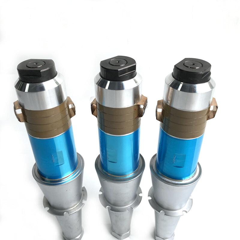 15khz ultrasonic welding transducer with rolling horn 1000W power for plastic ultrasonic welder machine transuder