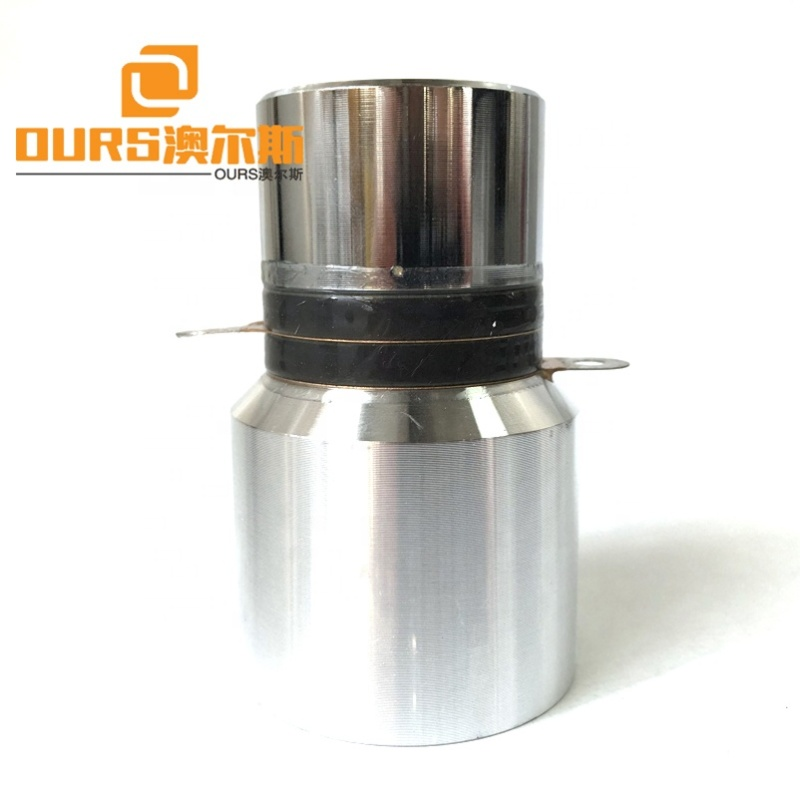 Factory Wholesale 28K Single Frequency Ultrasound Cleaning Transducer 50W Without Hole For Industrial Ultrasound Cleaner Slot