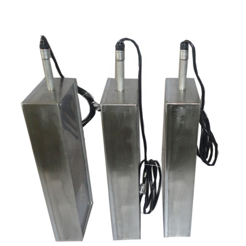 28KHz/40KHz Submersible Transducer Immersible Ultrasonic Cleaning Transducers On Industrial Ultrasonic Washing Machine