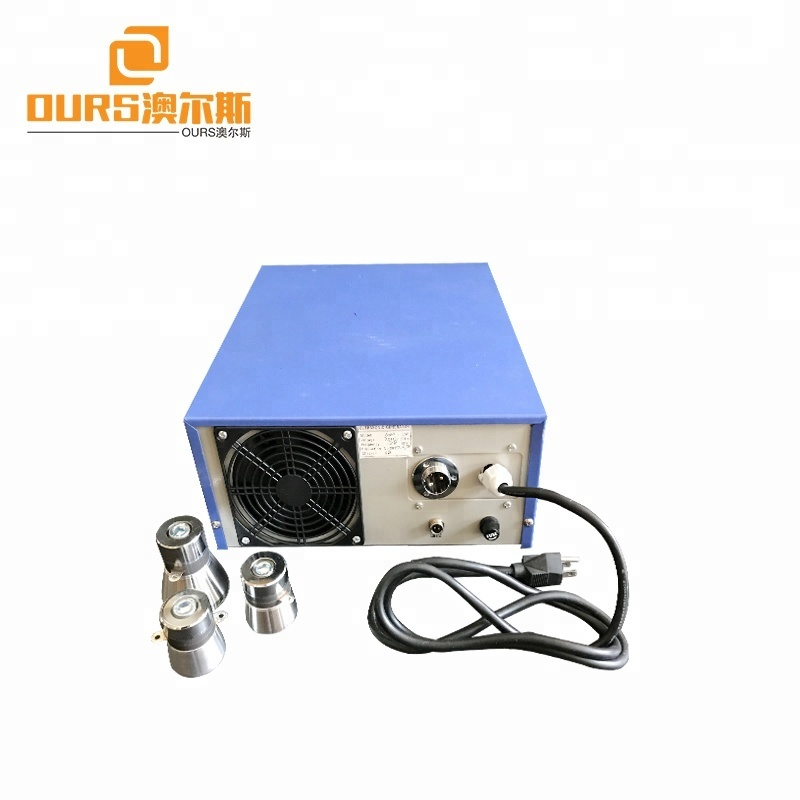 2000w ultrasonic generator and transducer for industrial ultrasonic cleaning tank