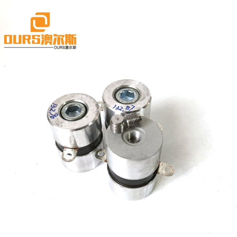 High Frequency 135K 50W Washer Ultrasonic Wave Transducer Parts For SUS Cleaning Tank Washing Precision Instruments