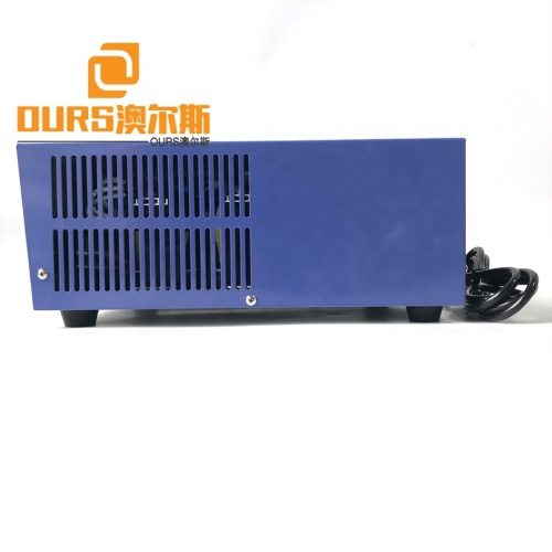 Automobile Oil Cleaning Tank Power Ultrasonic Cleaner Oscillator Generator 900W Stainless Steel Ultrasound Signal Generator