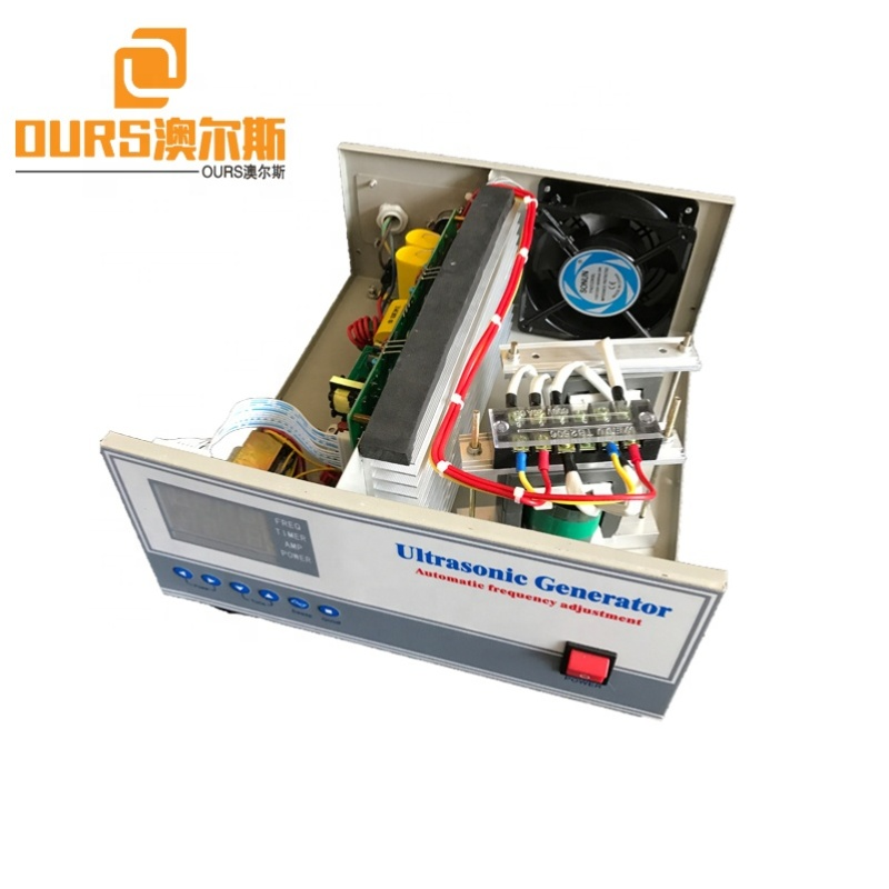 1800W High Power Ultrasonic Industry Cleaning Generator/Power Supply Dual Frequency Ultrasonic Generator With Sweep Frequency