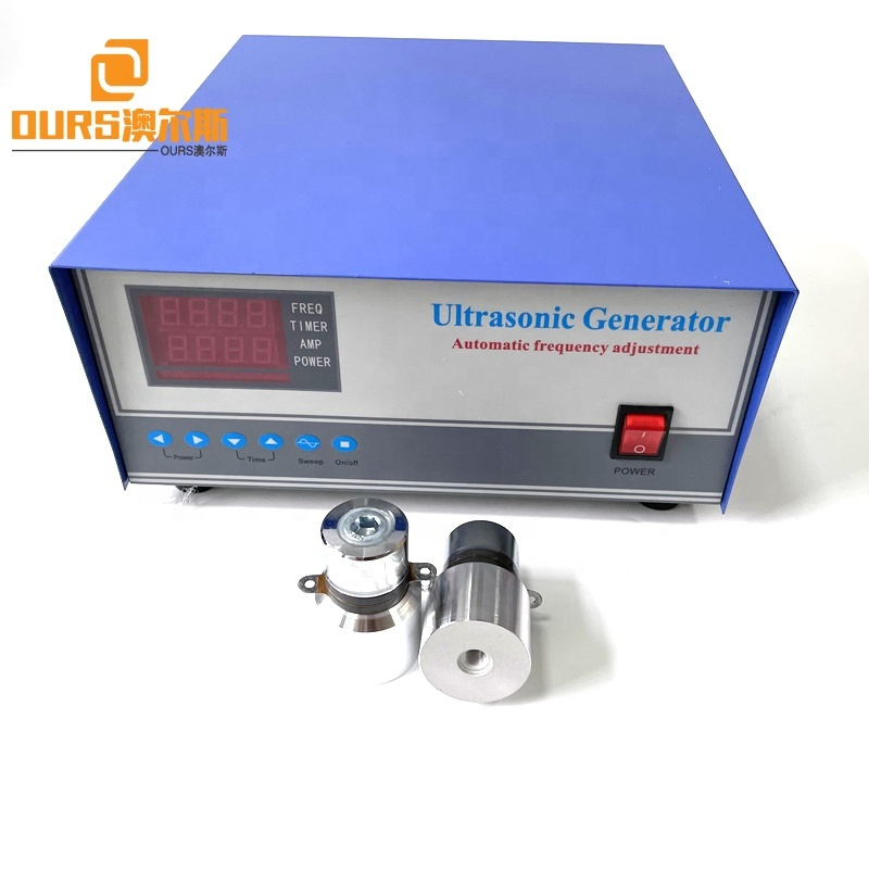 28K/40K 200W-1200W Dual Frequency Ultrasonic Circuit Generator As Cleaning Transducer Driver Suppliers