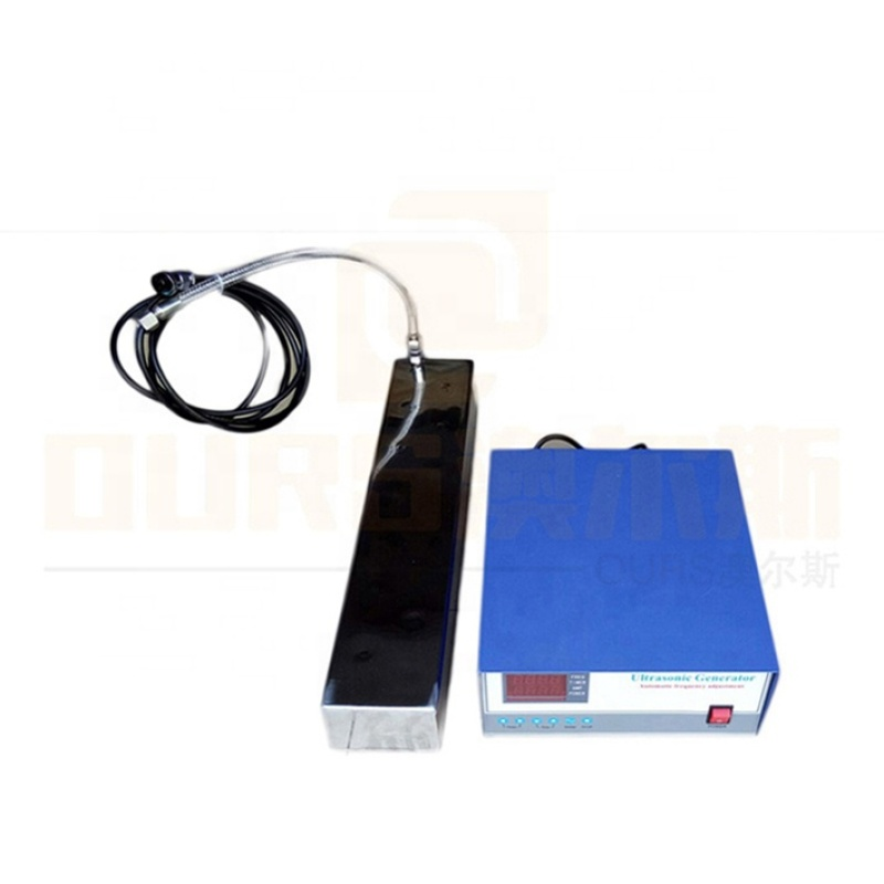 Factory Made Waterproof Vibration Plate Immersible Ultrasonic Transducer Cleaner Work With Ultrasonic Generator 600W Power Wave