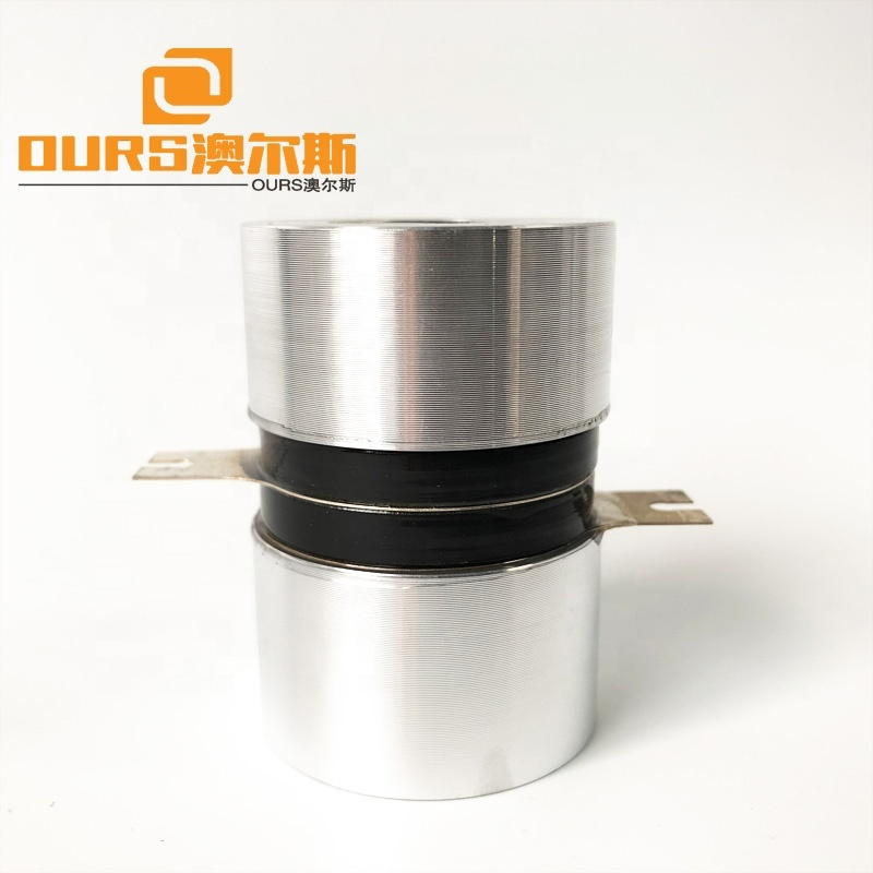 Industry Standard Ultrasonic Piezo Transducer Voltage 130khz 50W  Peak to Peak 700v-1000v