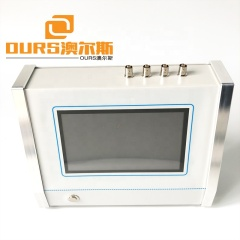 Full Touch Screen  Precise Measuring Ultrasonic Analysis For Parameters Of Piezoceramic 1KHZ-5MHZ Frequency Range