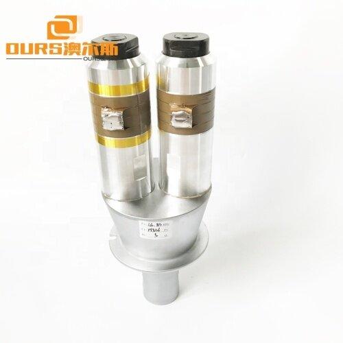 15KHz Ultrasonic Welding Transducer For Plastic Welding And Plastic Welding Machine 4200W PVC PP ABS Materia