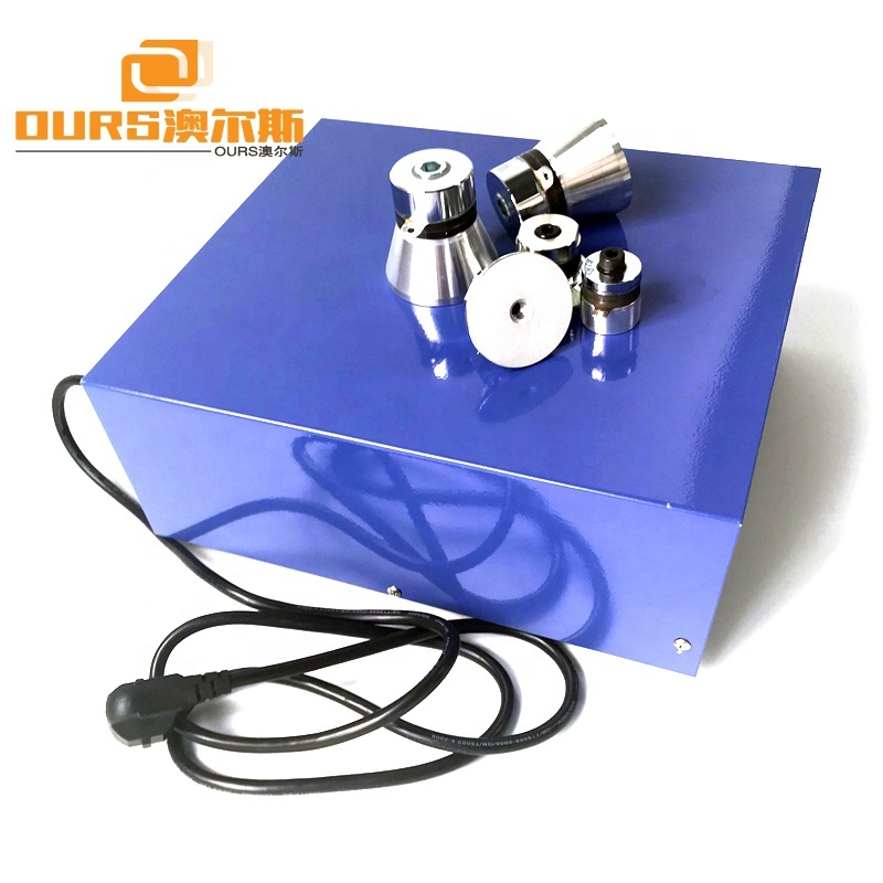 20-40KHz Frequency Adjustable 600W Ultrasonic Generator With Pulse Degassing And Sweep Frequency Function
